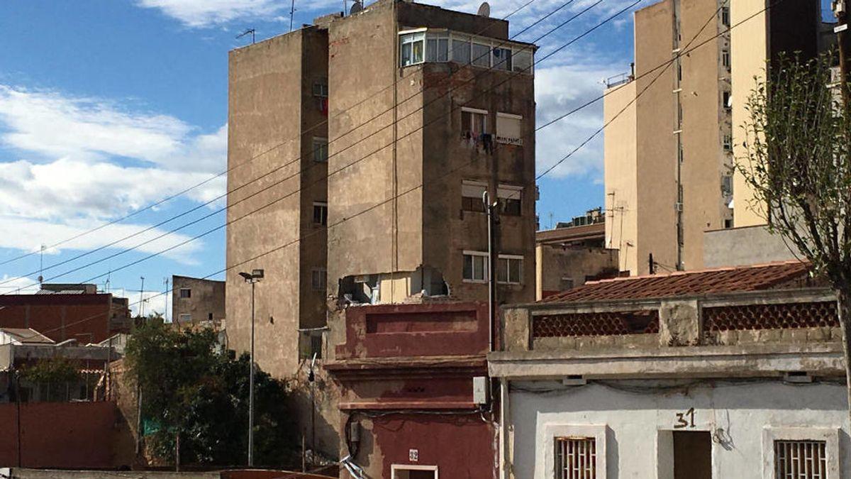 Derrumbe en Badalona: Cruce de versiones entre el Ayuntamiento y los vecinos