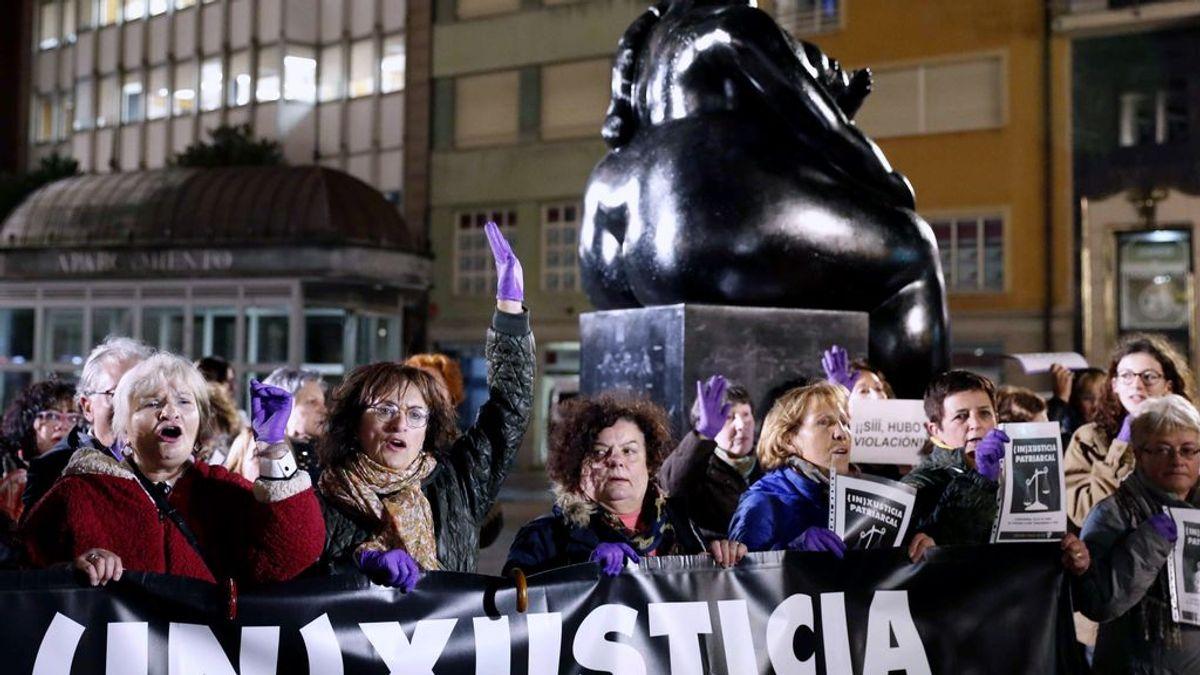 Movilizaciones en toda España contra la sentencia de La Manada de Manresa