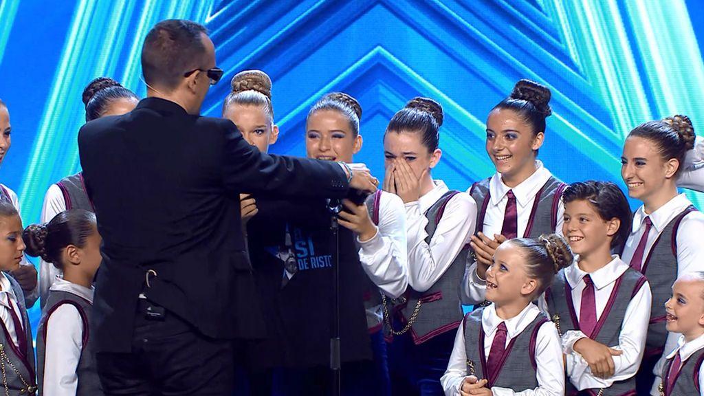 'Davinia Little Stars' realiza un número musical digno de Broadway y Risto les hace llorar con su 'Sí'