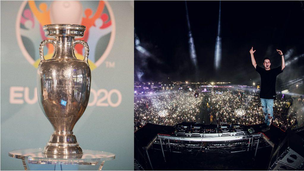El DJ Martin Garrix compondrá la canción oficial de la Eurocopa 2020