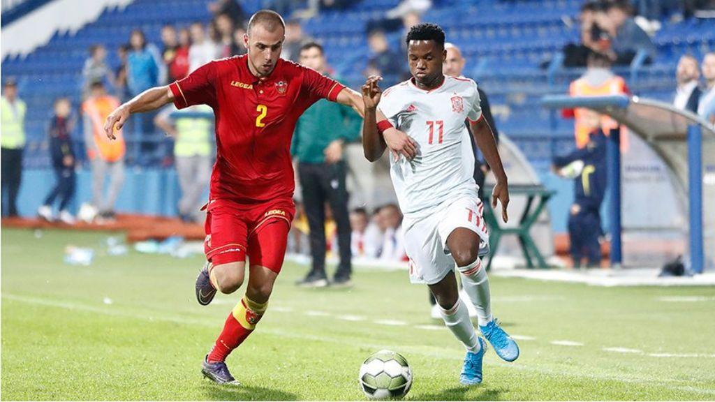 Ansu Fati, con opciones reales de estar en la lista de España para la Eurocopa 2020
