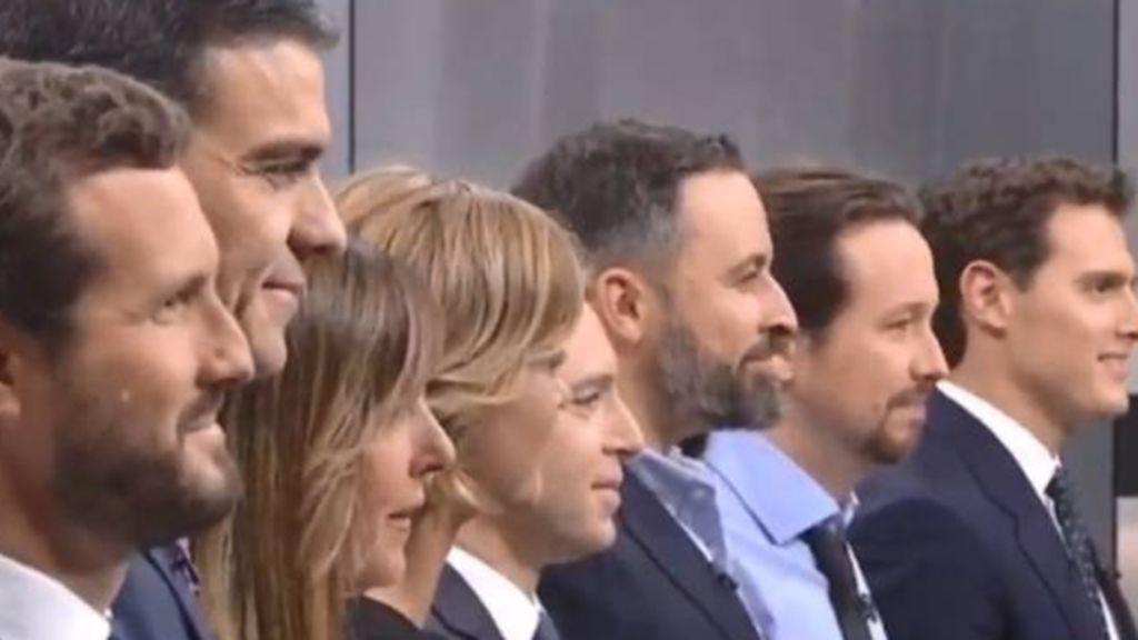 Las frases y los zascas del debate a cinco por la presidencia del Gobierno