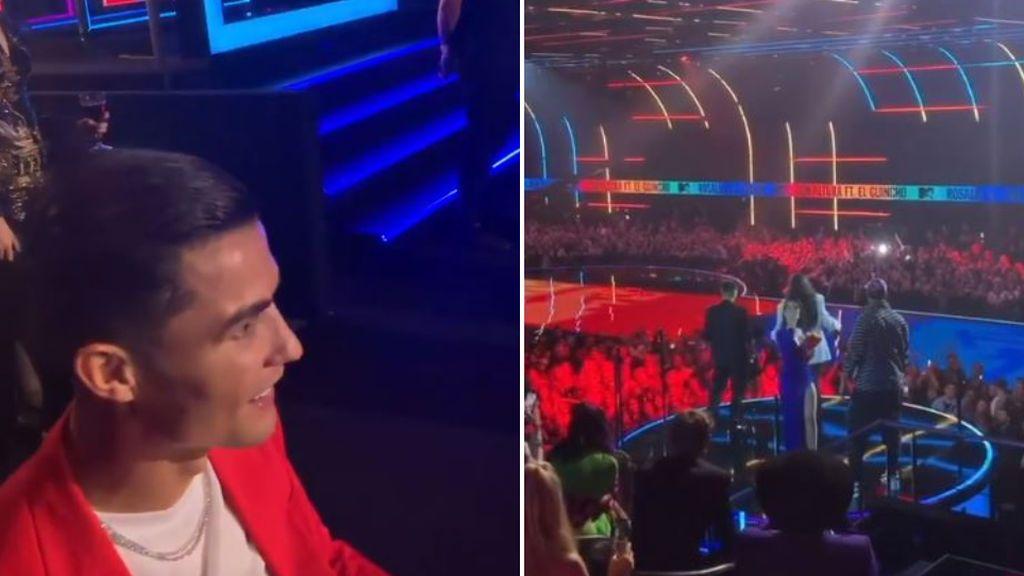 "El apoyo incondicional de Cristiano a Georgina en la gala MTV: ""Orgulloso de ti, amor"""