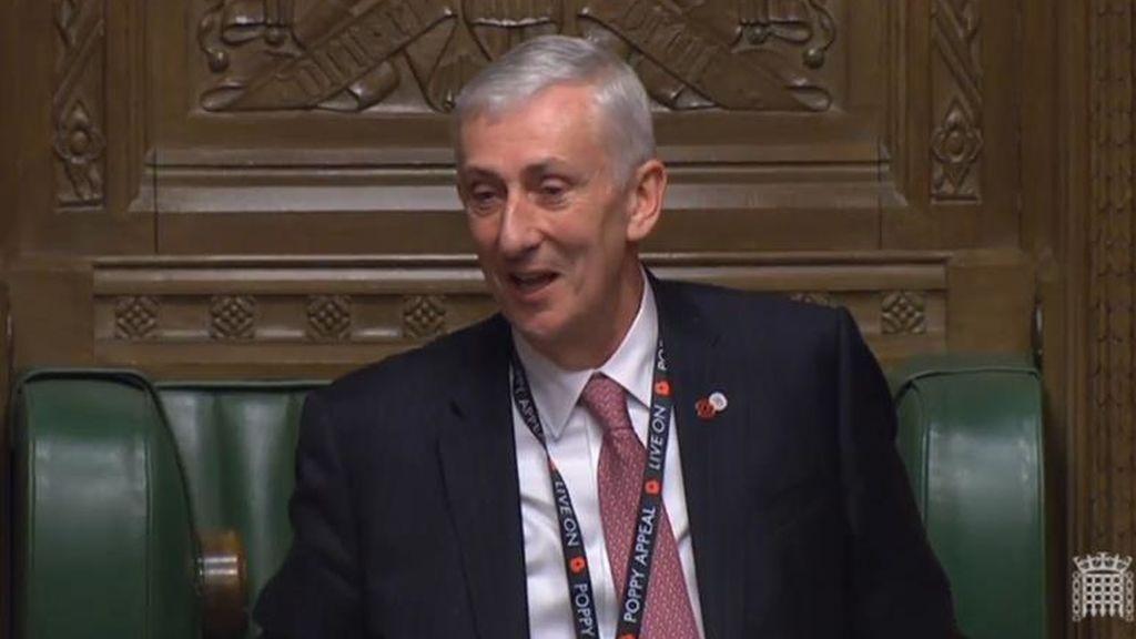 El laborista Hoyle sustituye a Bercow como 'speaker' de la Cámara de los Comunes