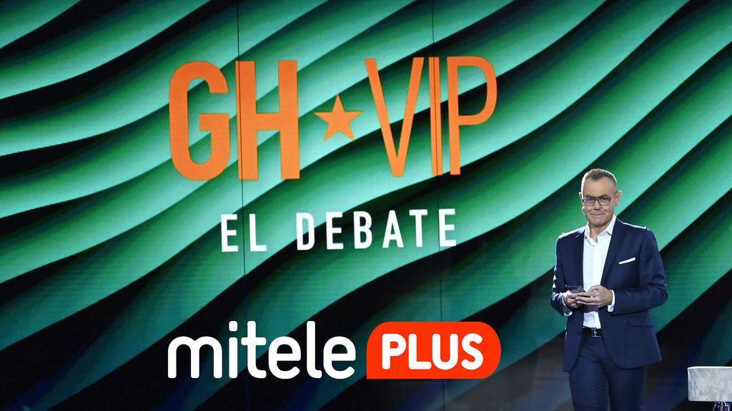 Mitele PLUS emitirá el domingo en exclusiva para sus suscriptores la primera parte de 'GH VIP: El Debate'