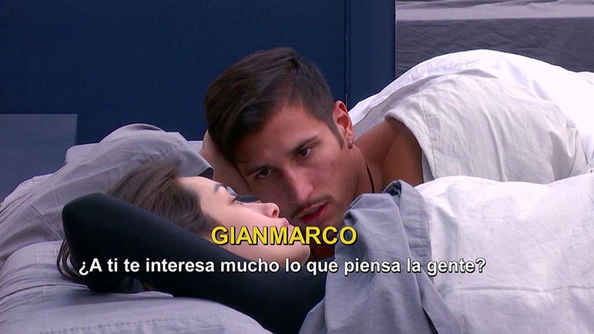 Adara, preocupada por cómo se puede estar viendo su relación con Gianmarco