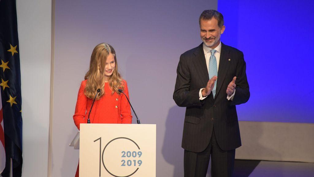 El discurso completo de Leonor en los premios Princesa de Girona