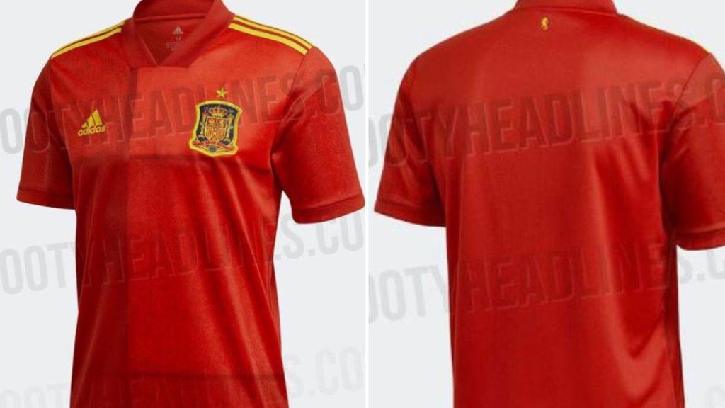 España llevará un león en la espalda en la nueva camiseta para la Eurocopa 2020