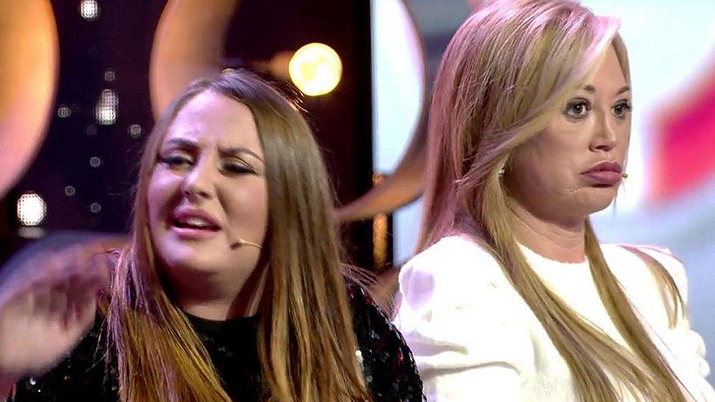 """Kiko y Rocío Flores vuelven a enzarzarse en plató: """"No hables de mi padre"""""""
