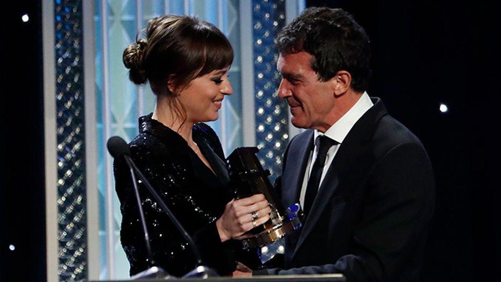 Antonio Banderas, premiado en los Hollywood Film Awards