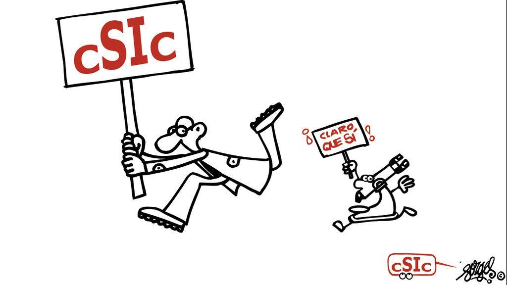 El CSIC rinde homenaje al Forges divulgador