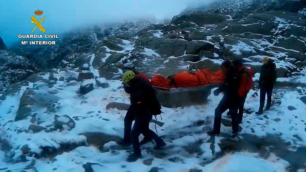 El temporal de nieve deja su primera víctima mortal en Ávila