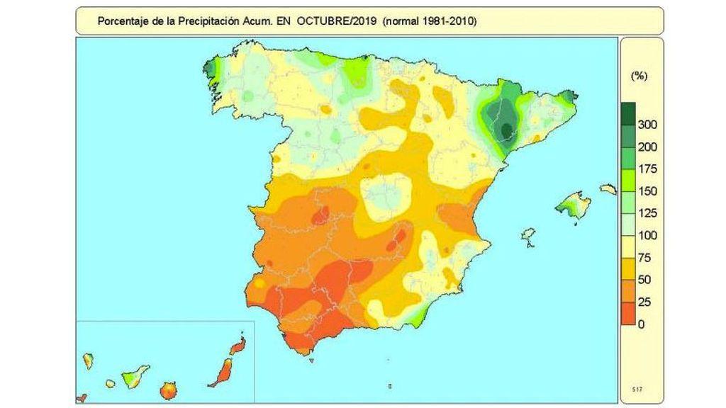 lluvias octubre