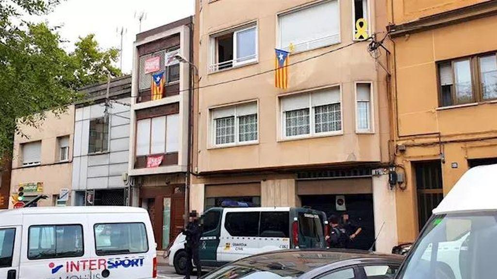 """La Guardia Civil intervino al miembro de CDR Jordi Ros una hoja con anotaciones manuscritas sobre """"esquema bomba"""""""