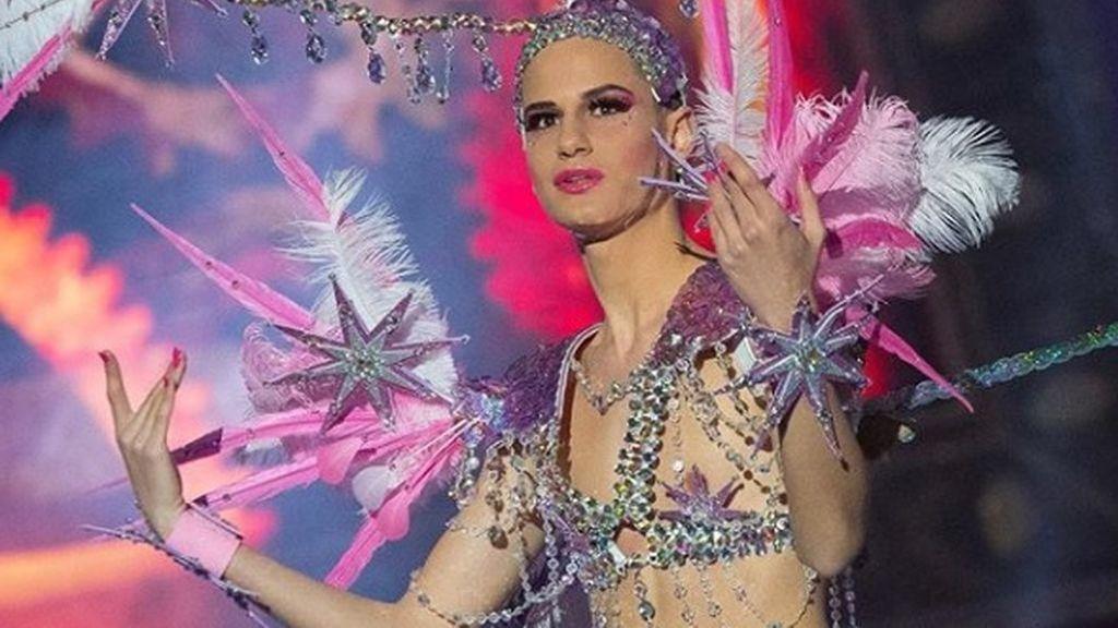 Alberto Starkmann quiere ser Reina del Carnaval canario