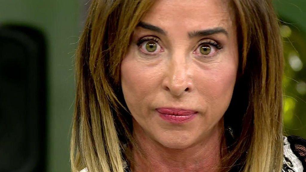 María Patiño se enfada con Carmen Borrego