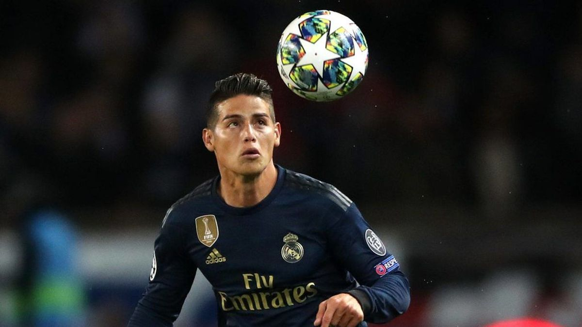 James, otro 'Caso Bale': convocado con Colombia pero no con el Real Madrid por lesión
