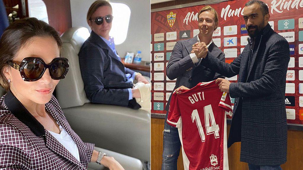 La nueva vida de Guti en Almería: avión privado y un millón de euros por temporada