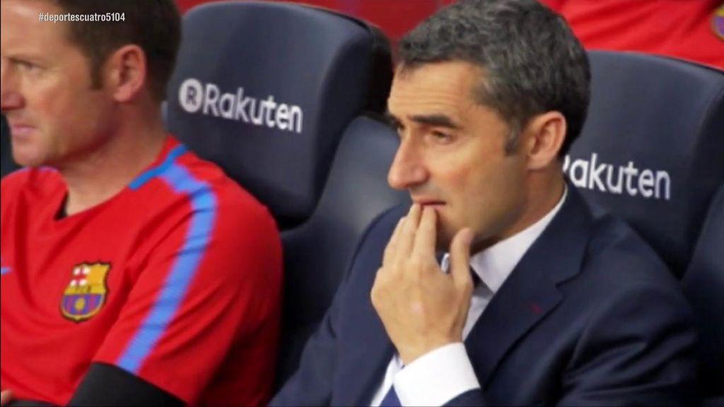 Valverde, señalado por la situación del Barça