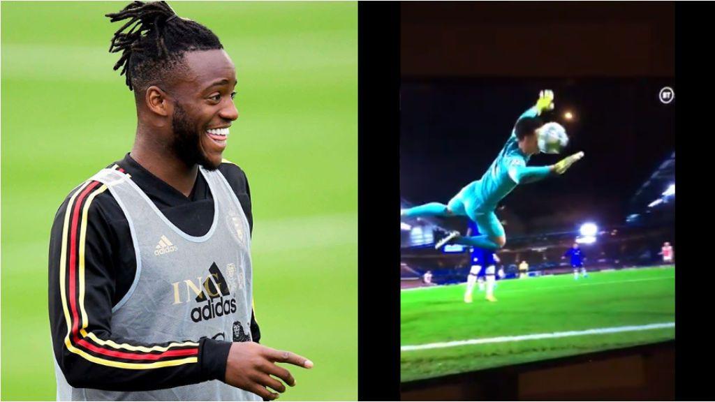 """La broma de Batshuayi a Kepa tras su gol en propia contra el Ajax: """"Bienvenido al club de los memes bro"""""""