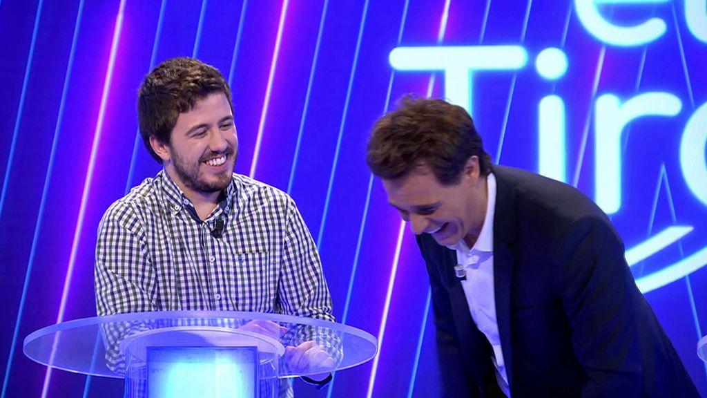 Christian Gálvez se parte de risa con la anécdota de Orestes