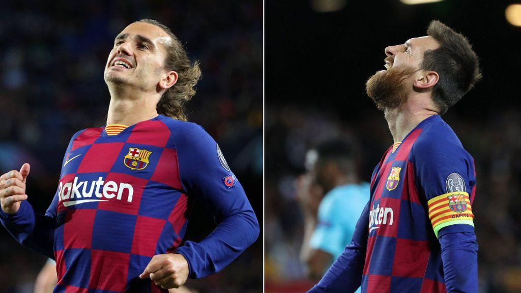Desconexión total Messi-Griezmann: sólo se pasaron el balón cinco veces en el partido