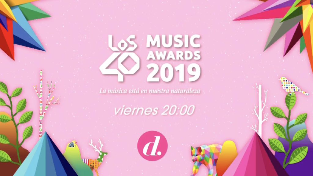 Los40 Music Awards en Divinity
