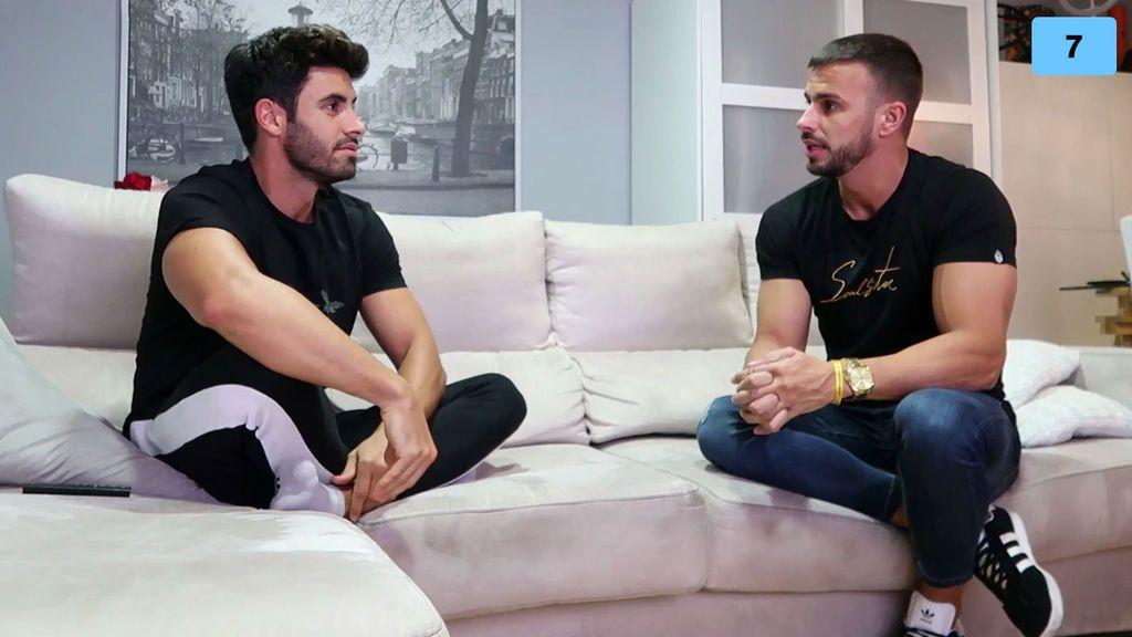 """Cristian y Noel explican su actual relación con María y le mandan un mensaje: """"Si la llamo, hablamos los dos"""" (1/2)"""
