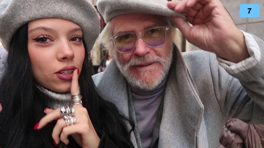 Bigote Arrocet se convierte en el estilista de Alejandra Rubio (2/2)