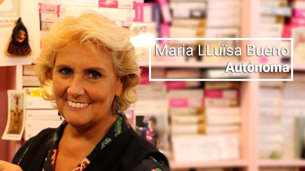 """Maria Lluïsa, 61 años, autónoma, se jubilará """"con 500 euros al mes después de trabajar toda una vida"""""""