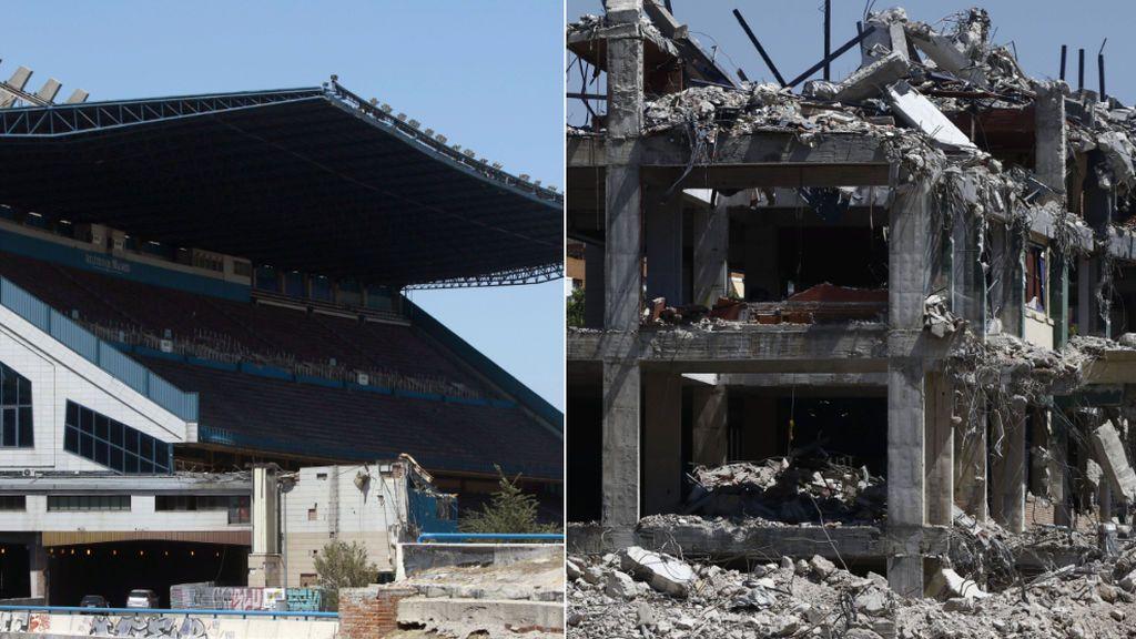 Adiós a la última grada del Vicente Calderón: la M 30 pasará por el césped del legendario estadio colchonero