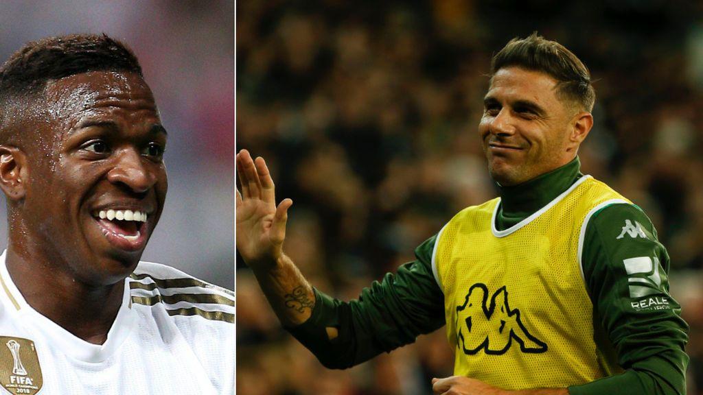"""Joaquín se disculpa con Vinicius: """"Es un gran jugador con mucha proyección, si no, no estaría en el Real Madrid"""""""