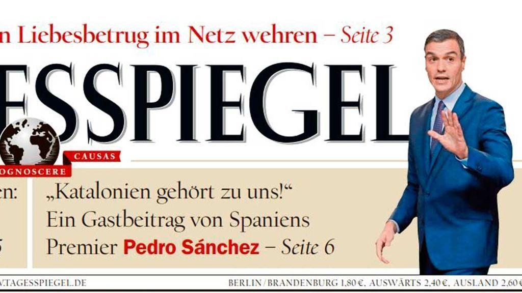 Ofensiva de Sánchez en Europa para defender su postura de Cataluña