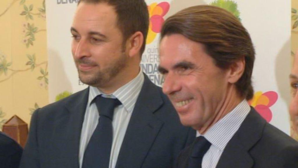 Aznar y Abascal juntos