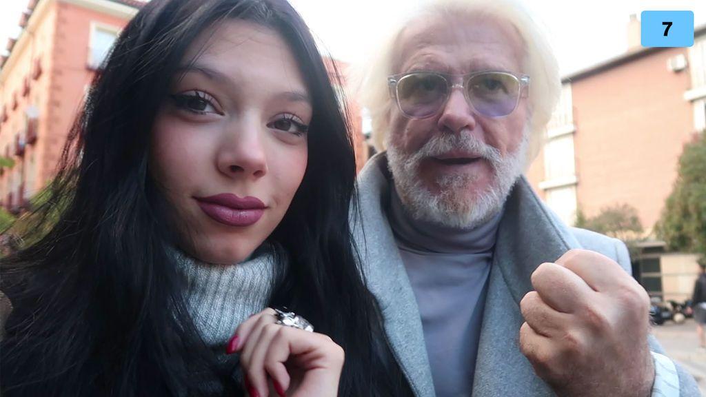 Bigote Arrocet se convierte en el estilista de Alejandra Rubio (1/2)