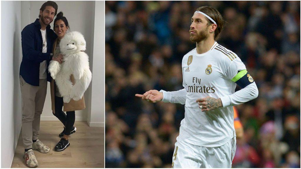 """La hermana de Sergio Ramos le 'devuelve' a su hermano el peluche que tenía con tres años: """"Tan blanco como siempre"""""""