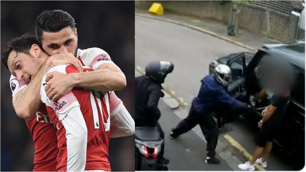 El vídeo íntegro del atraco a Kolasinac y Özil: uno de los atracadores intenta acuchillarle y el bosnio ni se inmuta