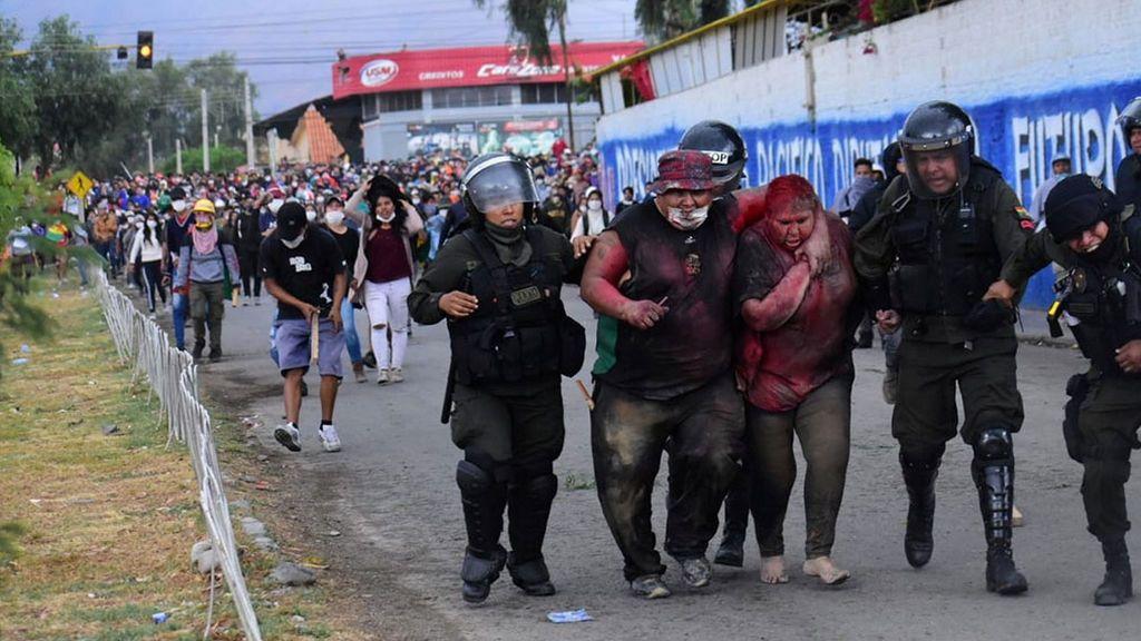 Brutal agresión a una alcaldesa en Bolivia