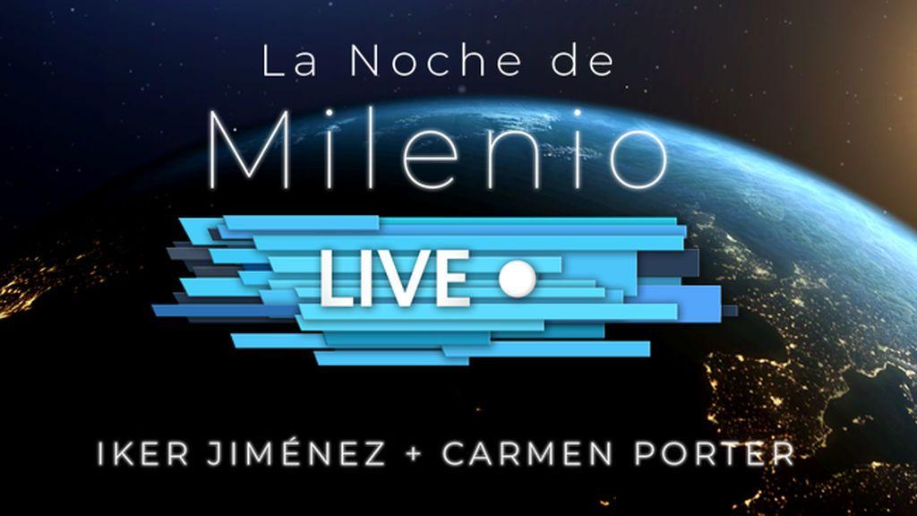 Presentamos 'La noche de Milenio Live', un nuevo evento con Iker Jiménez y Carmen Porter en Madrid