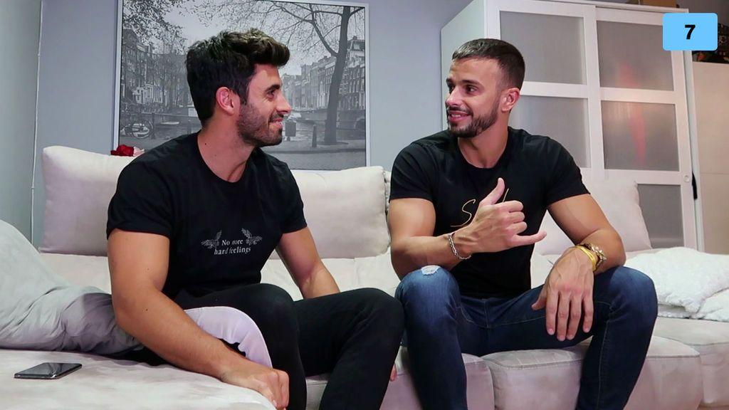 """Cristian y Noel explican su actual relación con María y le mandan un mensaje: """"Si la llamo, hablamos los dos"""" (2/2)"""