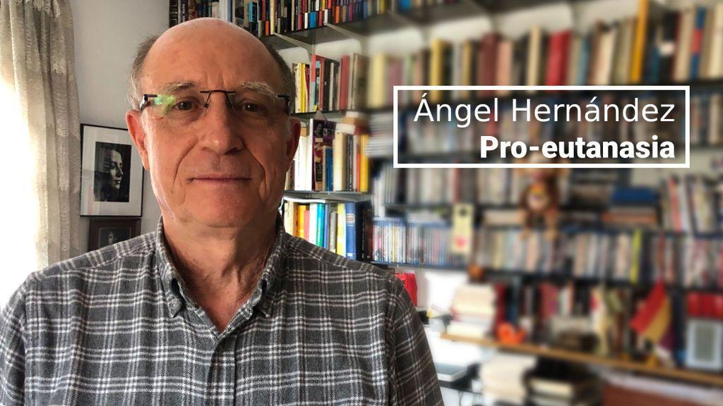 Ángel Hernández, 70 años, votará para que se despenalice la eutanasia