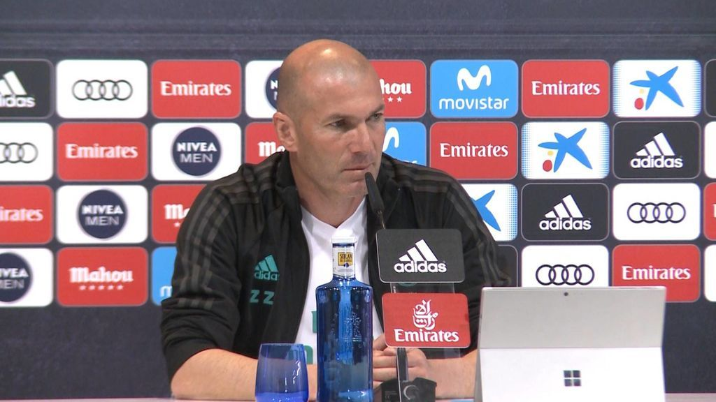 """Zidane, sobre las ausencias de Bale y James en el Madrid: """"No decido yo, deciden ellos si creen que están disponibles para entrenar"""""""