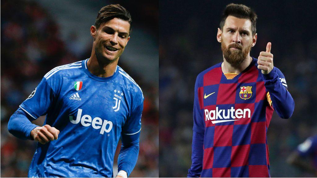 La cena de dibujos animados entre Cristiano Ronaldo y Leo Messi que se hace viral en las redes