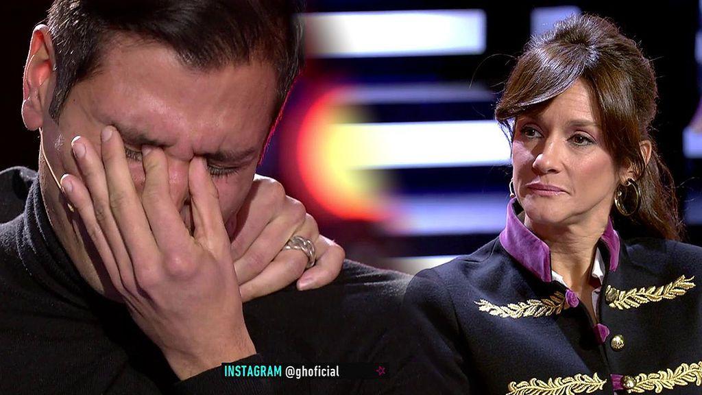 Gianmarco reconoce que está enamorado de Adara y rompe a llorar