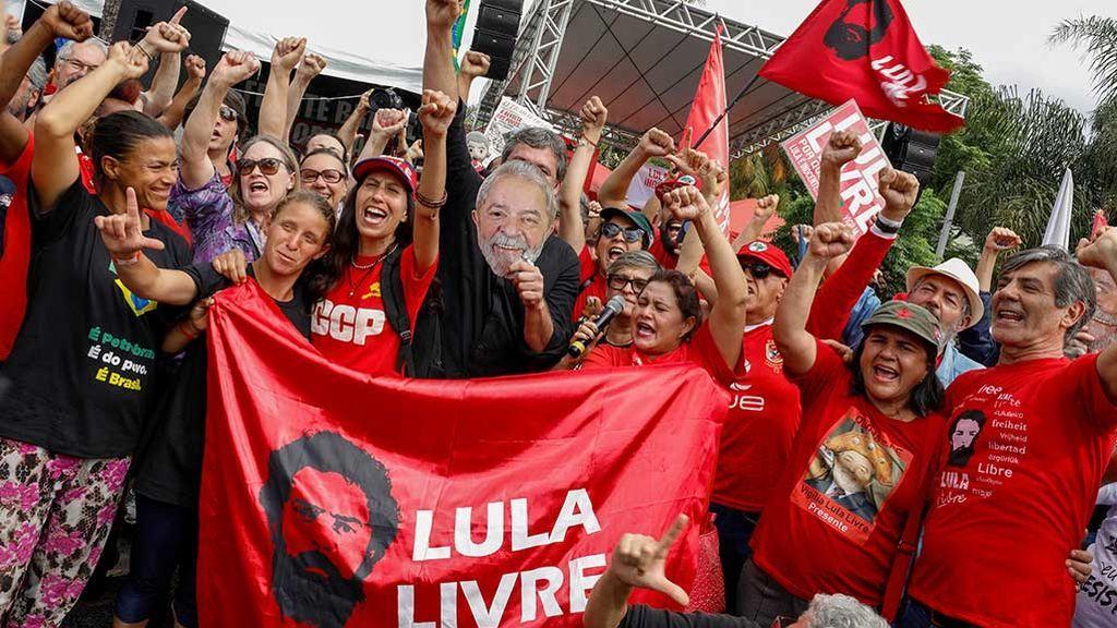 Lula da Silva saldrá de la cárcel