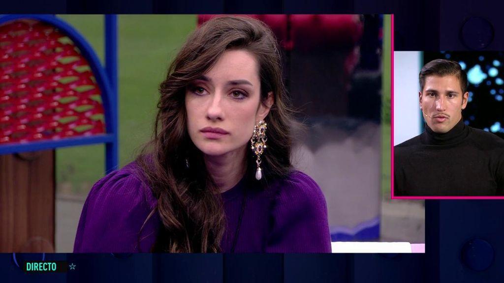 """Gianmarco se despide de Adara desde plató: """"Te espero fuera"""""""