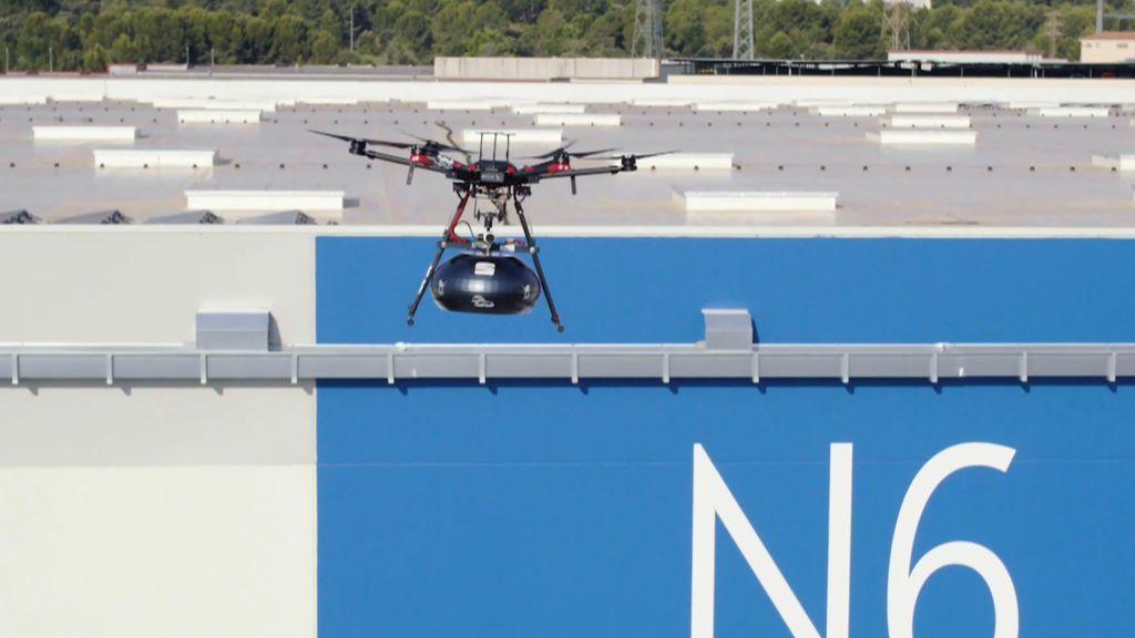 La innovación de Seat en el uso de los drones