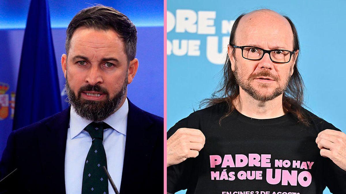 Santiago Abascal y Santiago Segura