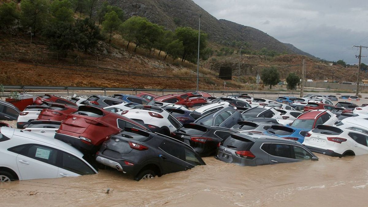 Los siniestros causados por la DANA cuestan 455 millones en Murcia y Alicante