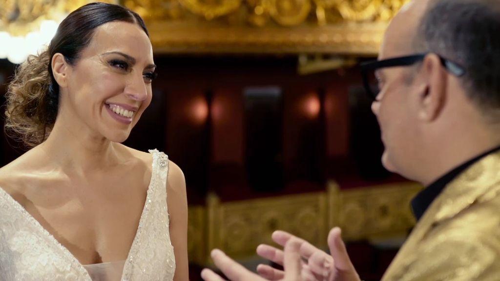 Mónica Naranjo se viste de novia por primera vez, pero da calabazas a su pareja con el discurso más emocionante